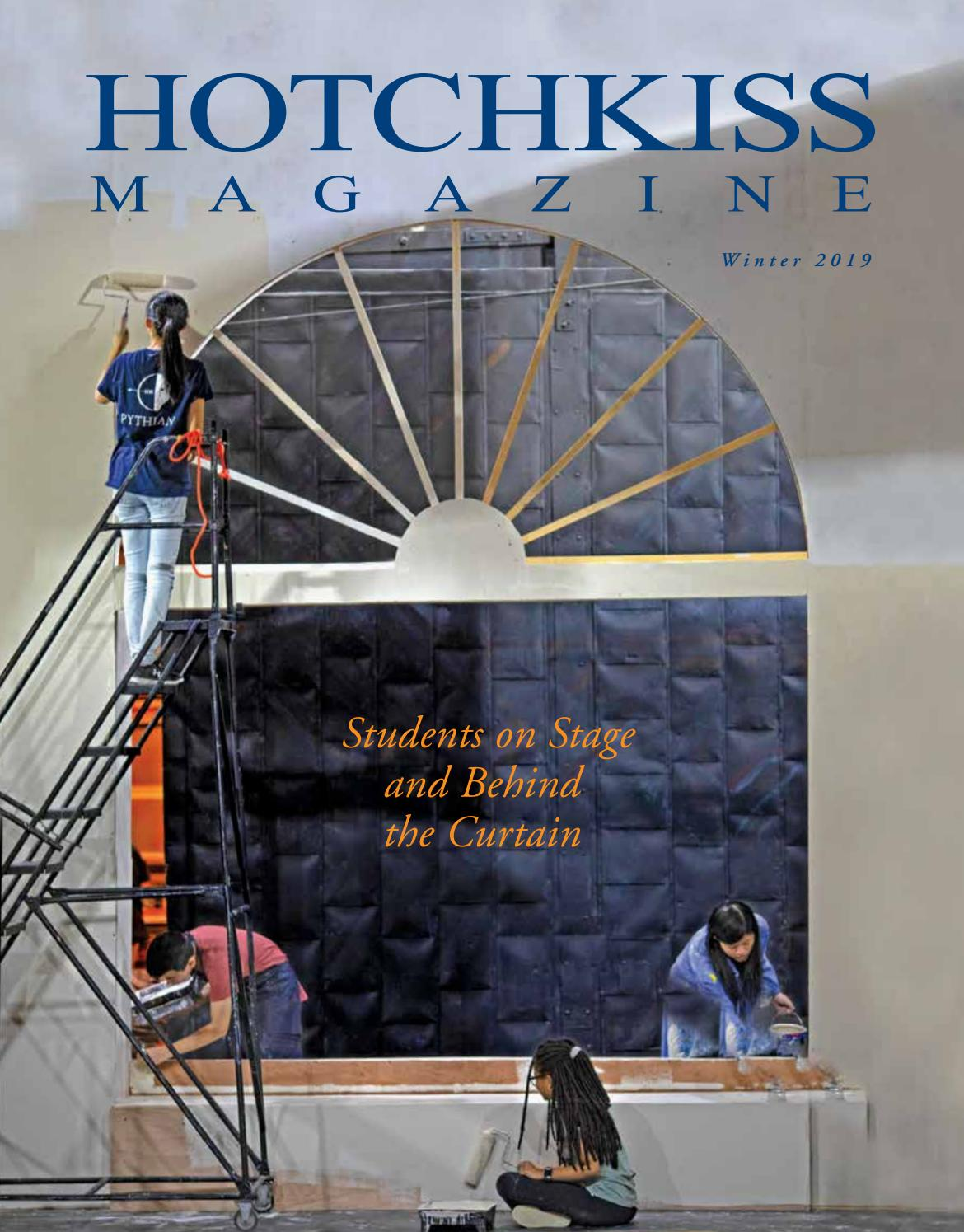 Hotchkiss Magazine Winter 2019 Issue By The Hotchkiss School Issuu