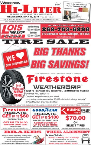 Wisconsin HiLiter for 5/15/2019 by Southern Lakes Newspapers