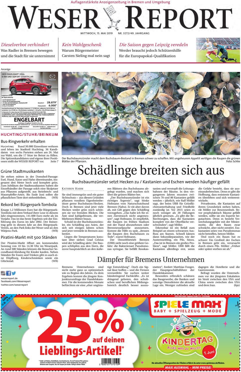 Weser Report - Huchting Stuhr Brinkum vom 15.05.2019 by KPS ...