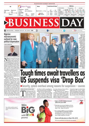 BusinessDay 15 May 2019 by BusinessDay - issuu