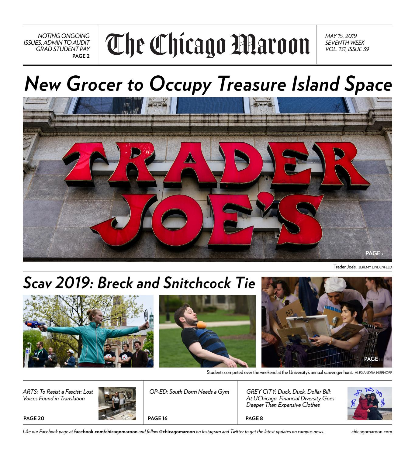 051519 by Chicago Maroon - issuu