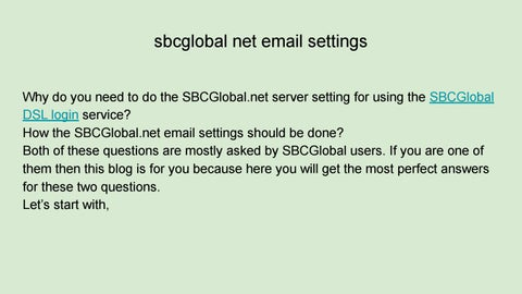 sbcglobal net email login by Giselparry3443 - issuu