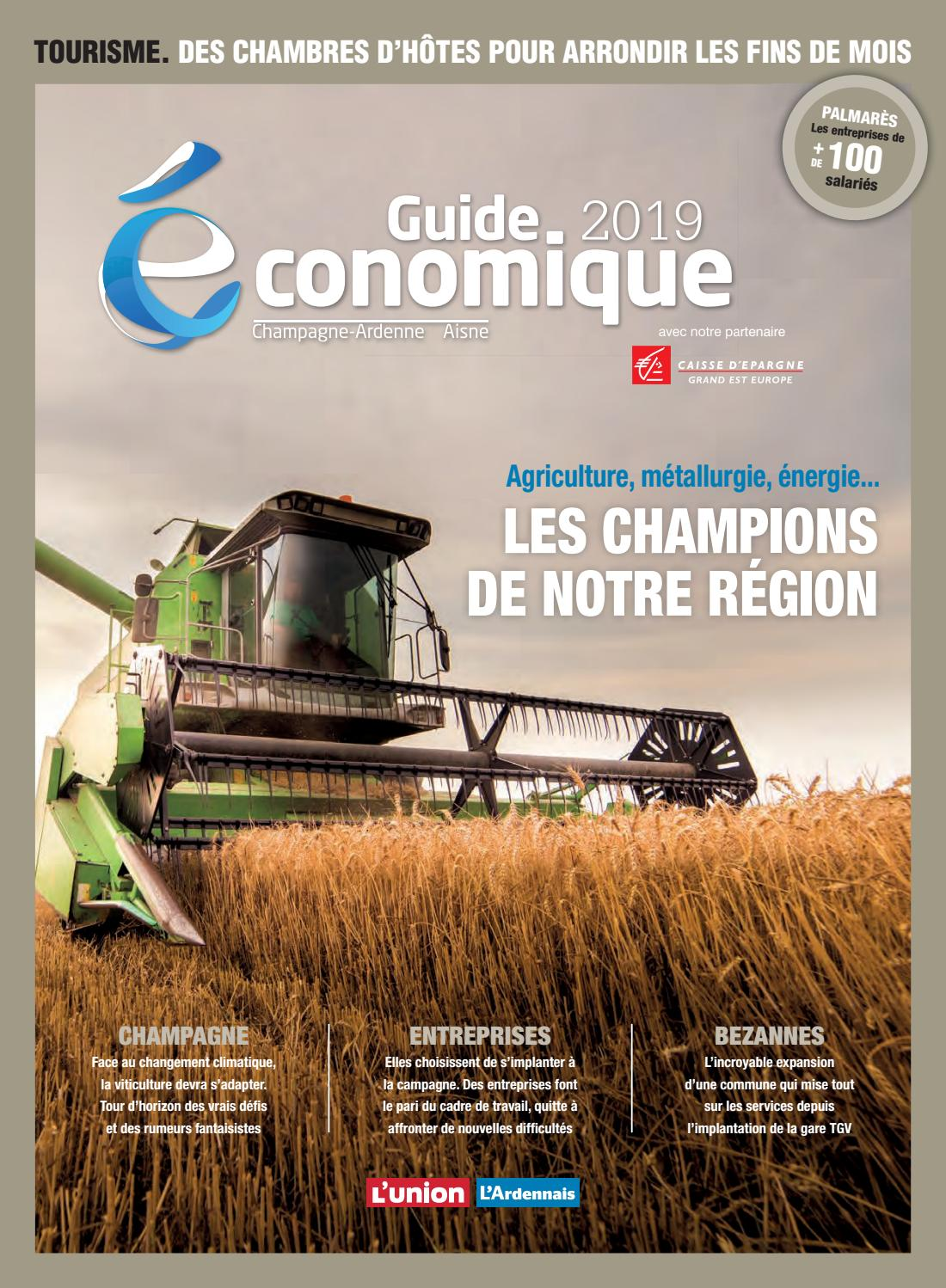 Le Guide Economique 2019 Champagne Ardennes Picardie By Vdn Issuu