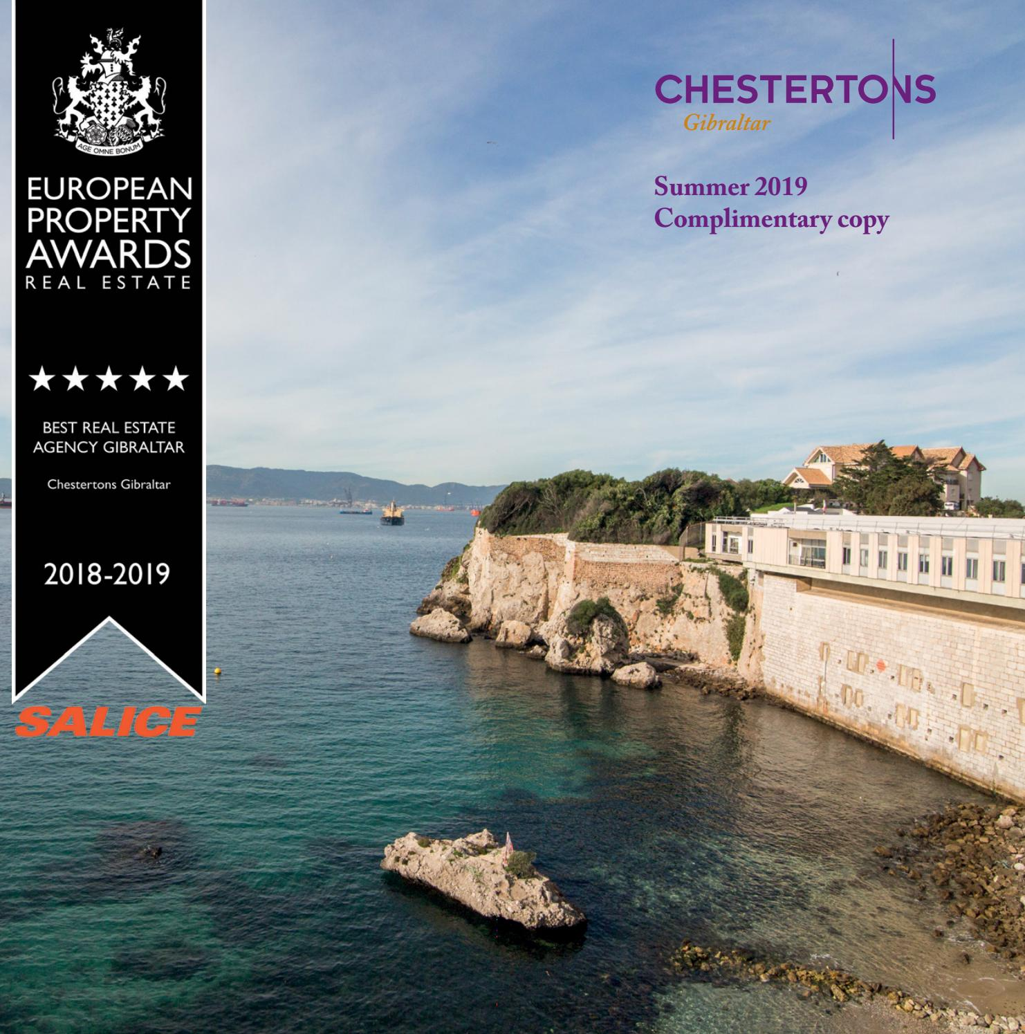 Gibraltar Property Magazine Summer 2019 By Chestertons Estate Agents Gibraltar Issuu
