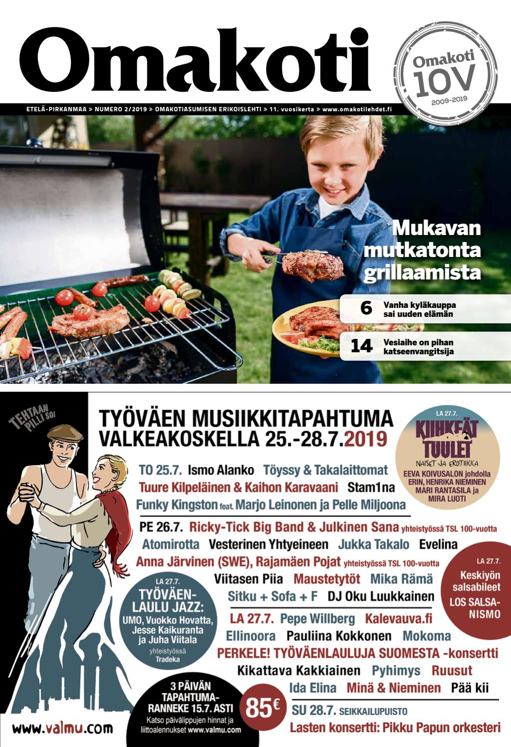 best website e3f91 75490 Omakoti Etelä-Pirkanmaa by Media Potentia Oy - issuu
