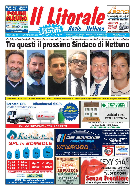 reputazione prima fabbrica nuovo stile del 2019 IL LITORALE - ANNO XIX - N. 10 - 16/31 Maggio 2019 by Il ...