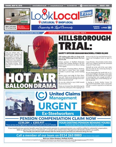 issue 1061 Thursday 16 May 2019 by Look Local Newspaper - issuu