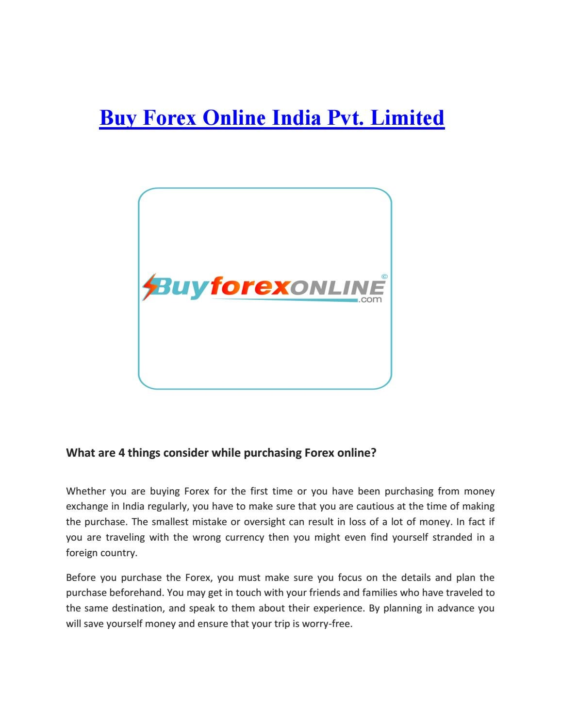 Get an advance in forex