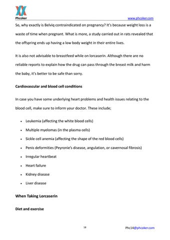 Page 18 of Some tips when use lorcaserin hcl to loss weight