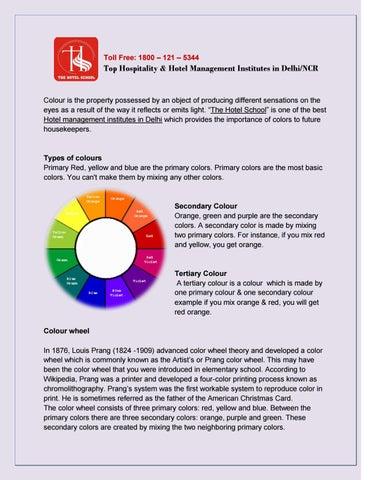 Hotel Management Institutes in Delhi by thehotelschool - issuu
