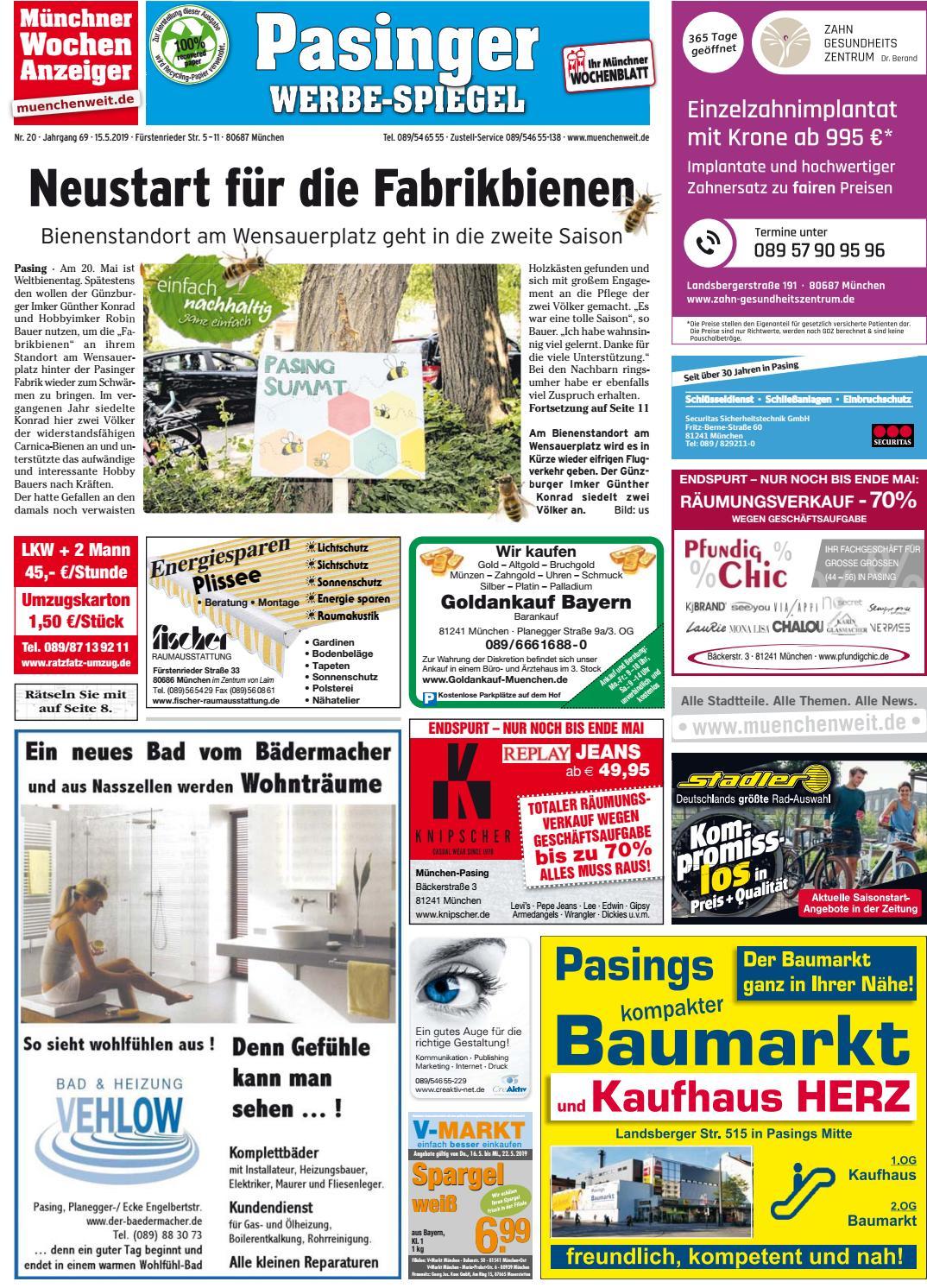 KW 20 2019 by Wochenanzeiger Medien GmbH issuu