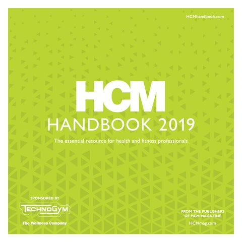 f5562bdb5 HCM Handbook 2019 by Leisure Media - issuu