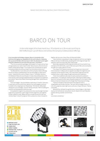 Page 15 of Barco On Tour