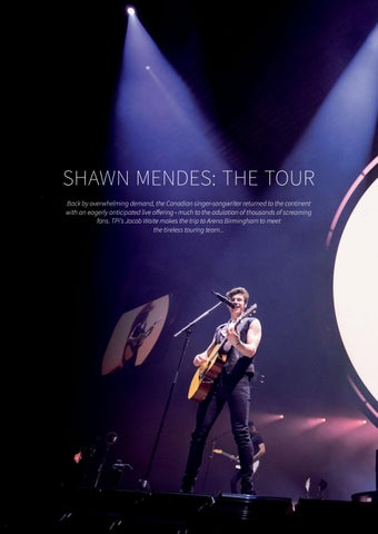 Page 18 of Shawn Mendes: The Tour