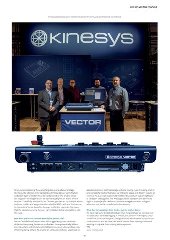 Page 95 of Gearheads: Kinesys Vector Console