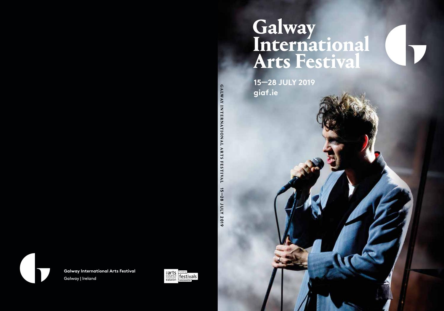 Galway International Arts Festival Programme 2019 by Galway
