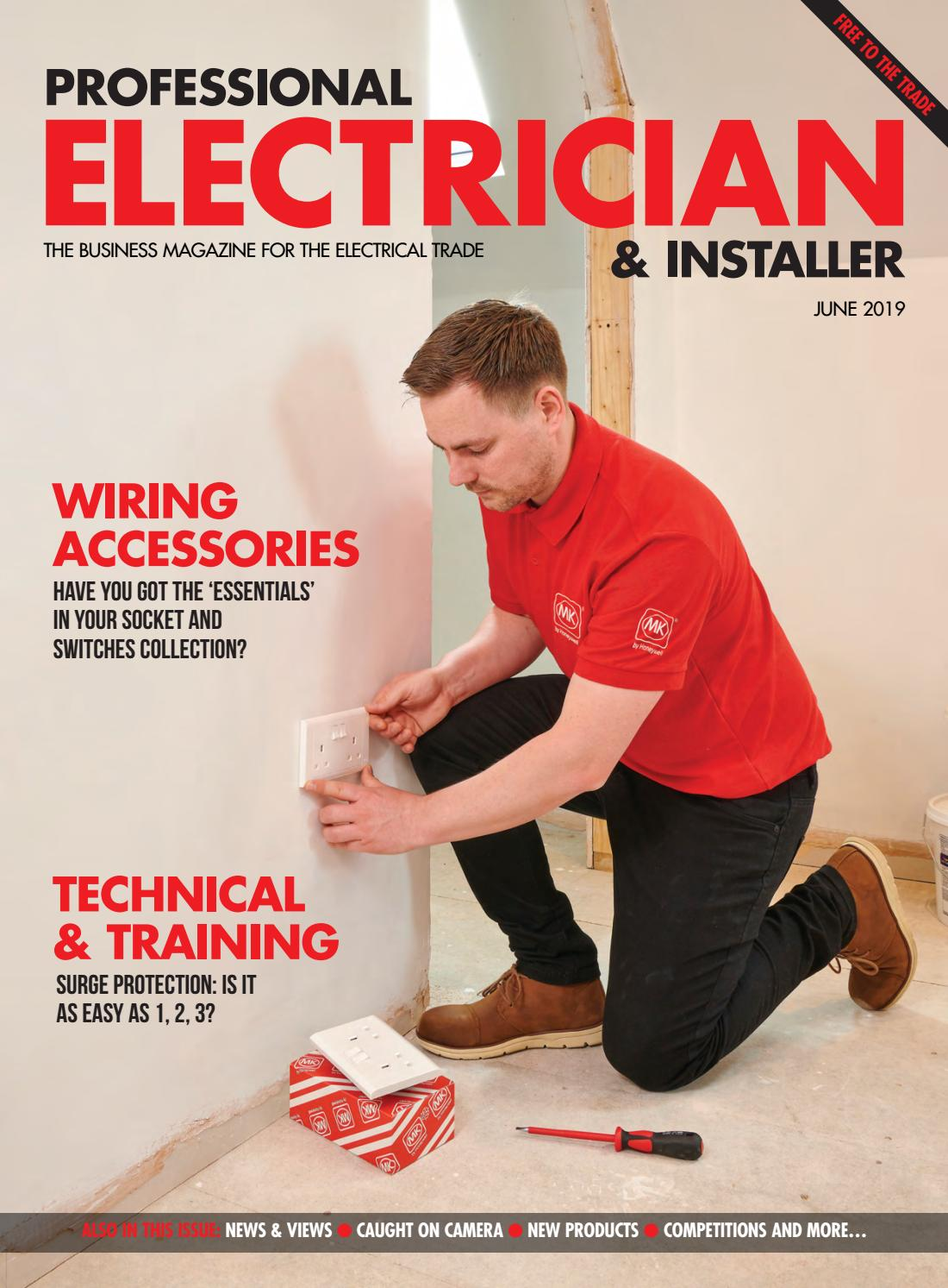 Professional Electrician June 2019 by Hamerville Media Group - issuu