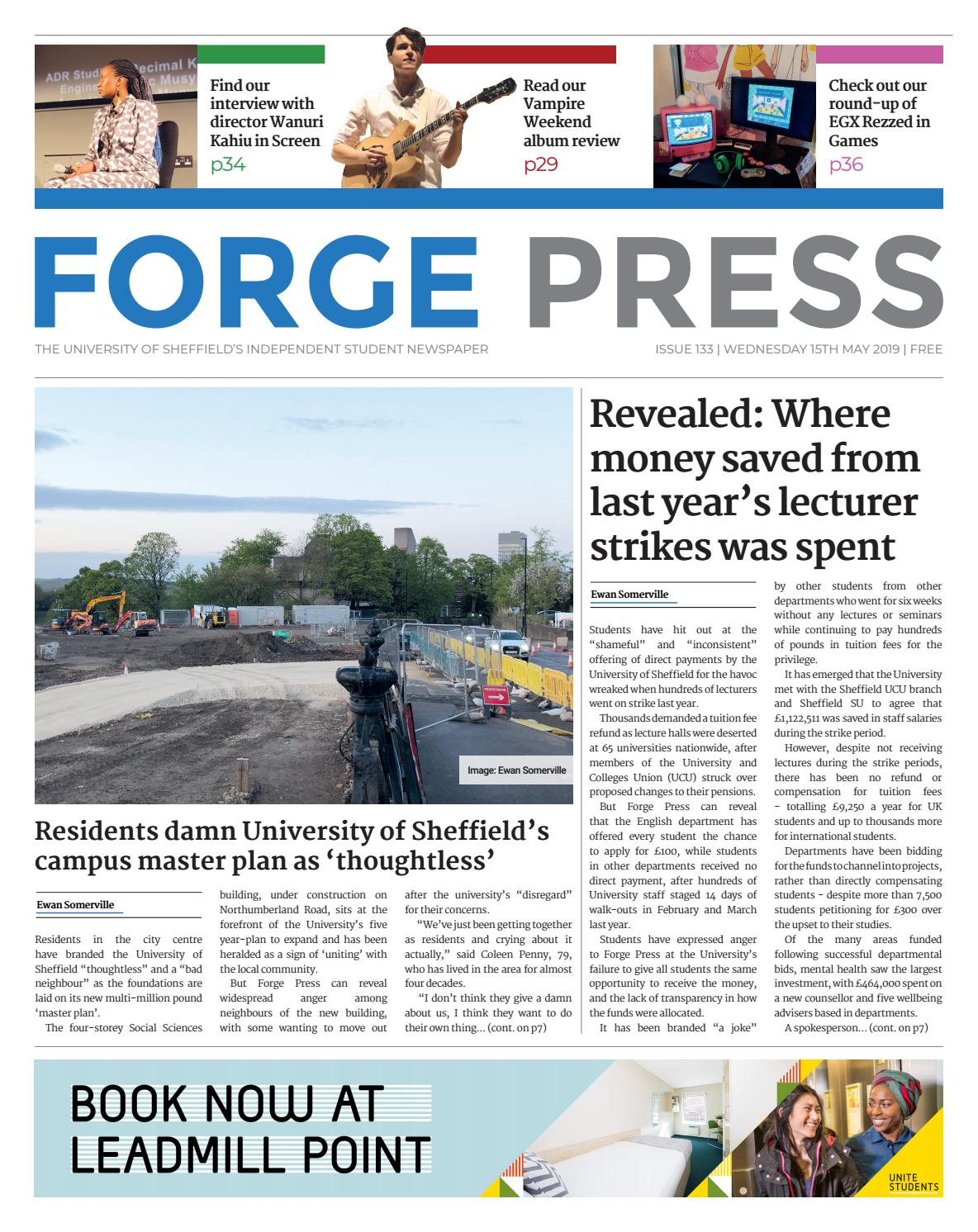 Forge Press #133 by Forge Press - issuu