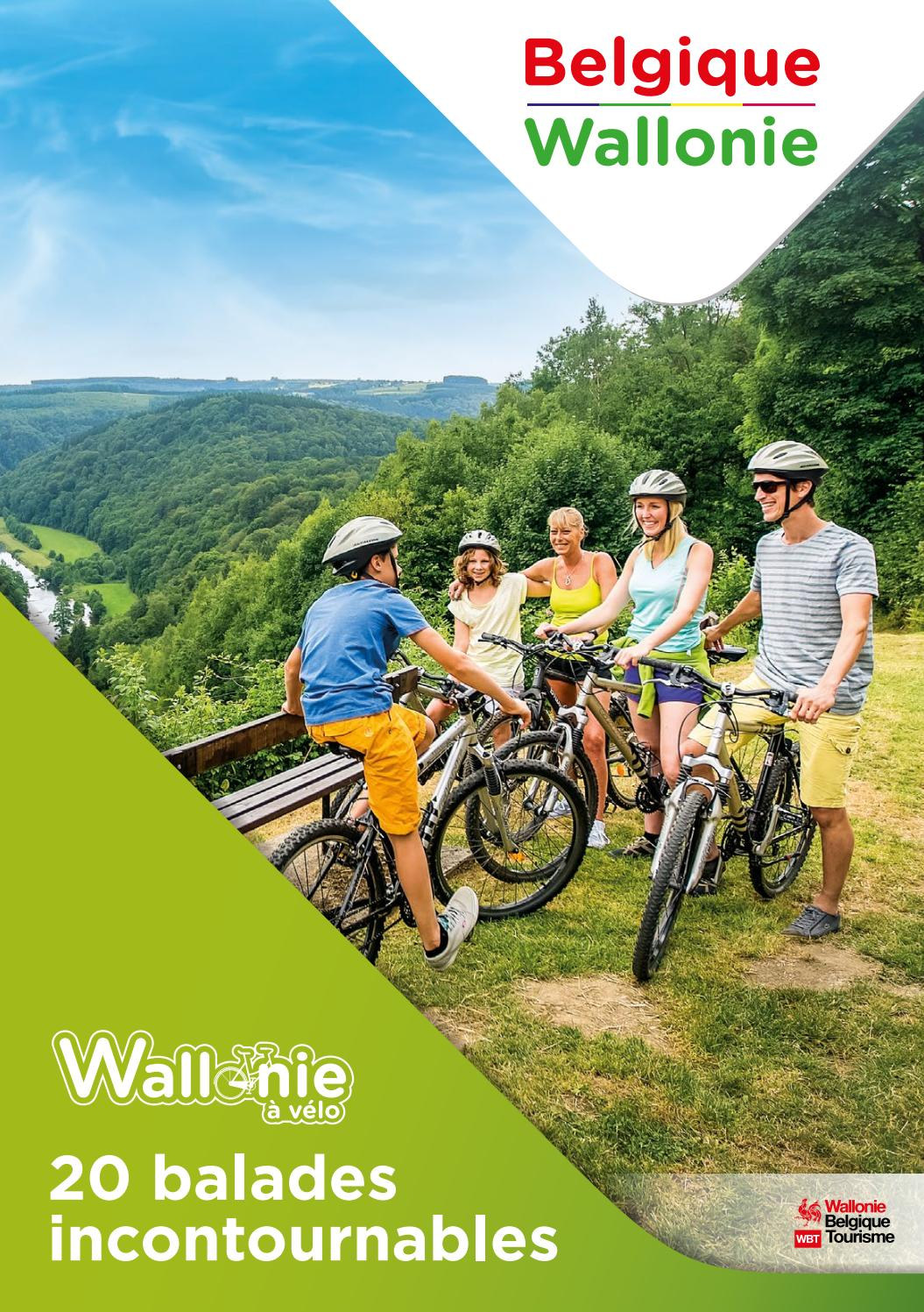 La Wallonie A Velo 20 Balades Incontournables By Visit Wallonia Issuu