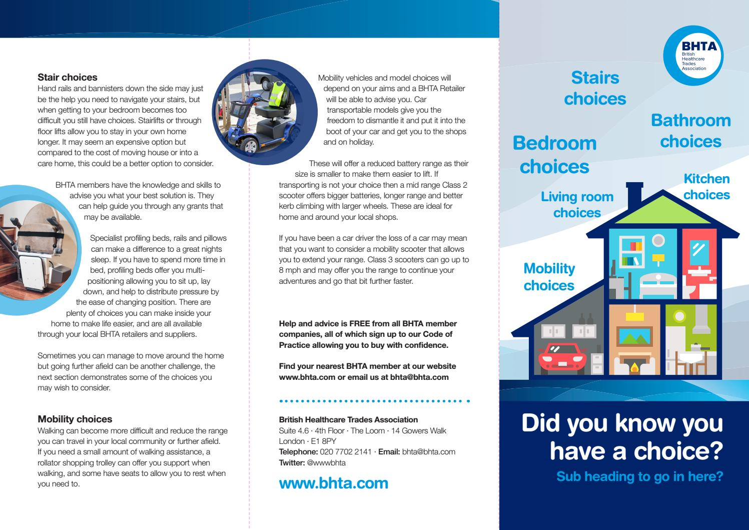 Campaign - Did you know you have a choice? by The British