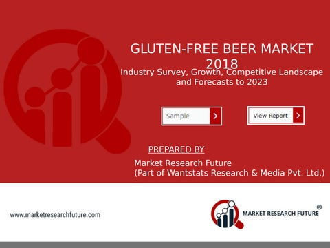 Page 1 of Gluten Free Beer Market Research Report by Value Share, Size, Trend, Growth, Gross Margin and Forecast to 2023
