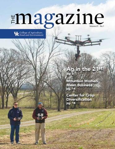 Spring 2019 Magazine by UKCAFE-University of Kentucky College of