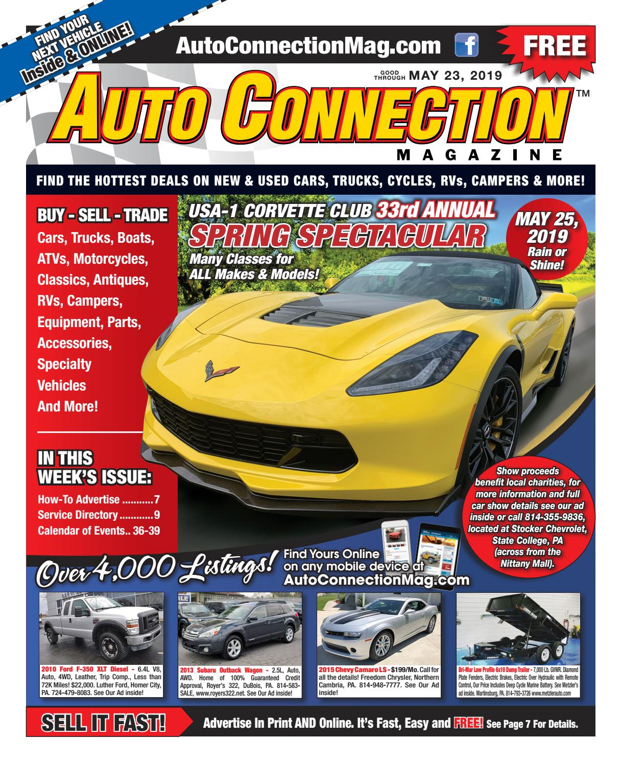 05-23-19 Auto Connection Magazine by Auto Locator and Auto
