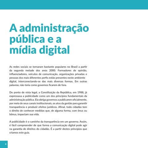 Page 6 of Por que o Governo de São Paulo está na mídia digital?