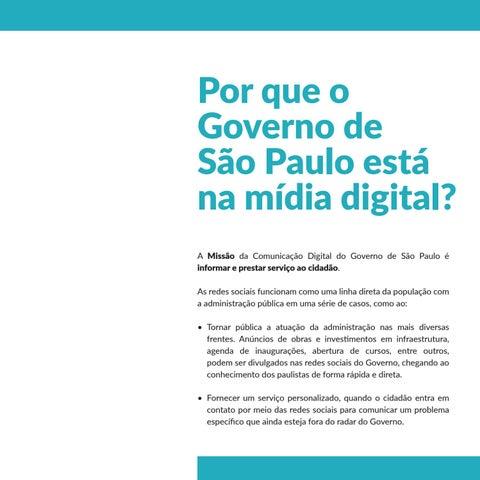 Page 7 of Por que o Governo de São Paulo está na mídia digital?