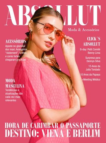 e6305aebc Revista ABSOLLUT Moda & Acessórios - Abril/Maio Ed. nº 59 by Camilo ...
