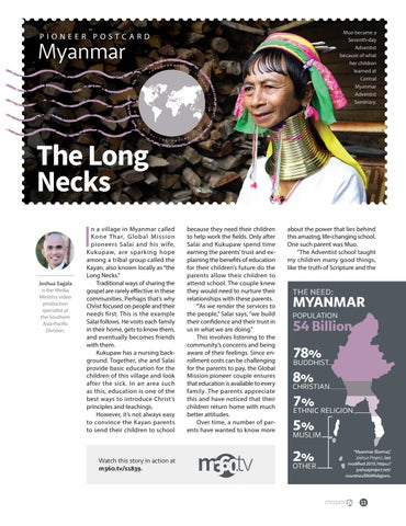 Page 11 of The Long Necks of Myanmar