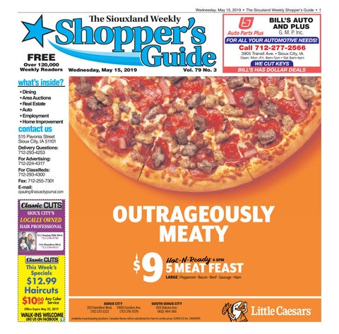 Shopper's Guide - May 15, 2019 by Sioux City Journal - issuu