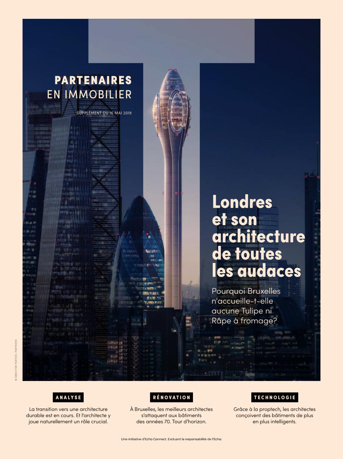 Partenaires En Immobilier, Mai 2019 By Tijd   Echo Connect   Issuu