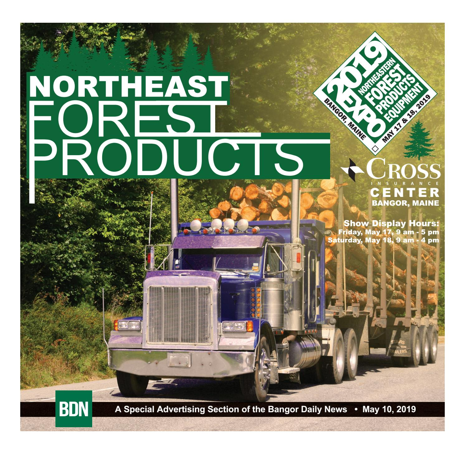 Forest Products 2019 by Bangor Daily News - issuu