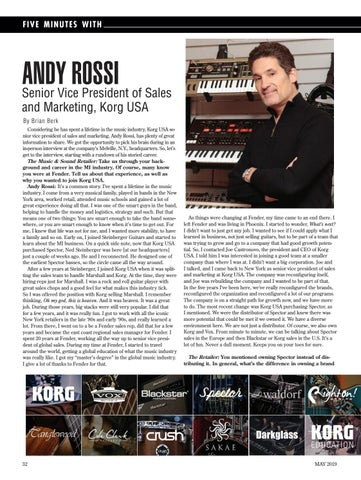 Page 32 of FIVE MINUTES WITH ANDY ROSSI