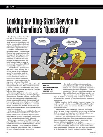 Page 36 of Looking for King-Sized Service in North Carolina's 'Queen City'