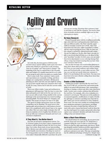 Page 41 of Retailing Better: Agility and Growth