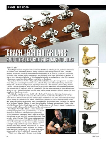 Page 46 of GRAPH TECH GUITAR LABS