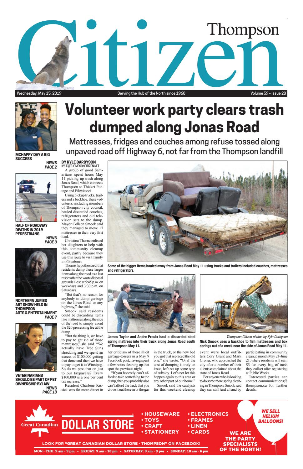 May 15 2019 by Thompson Citizen - issuu
