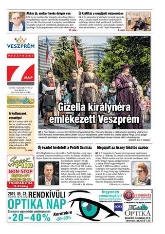 488c389dbe05 Veszprémi 7 Nap - 2019. 05. 16. by Maraton Lapcsoport Kft. - issuu