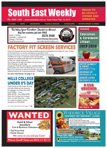 South East Weekly Magazine - May 16, 2019 by South East