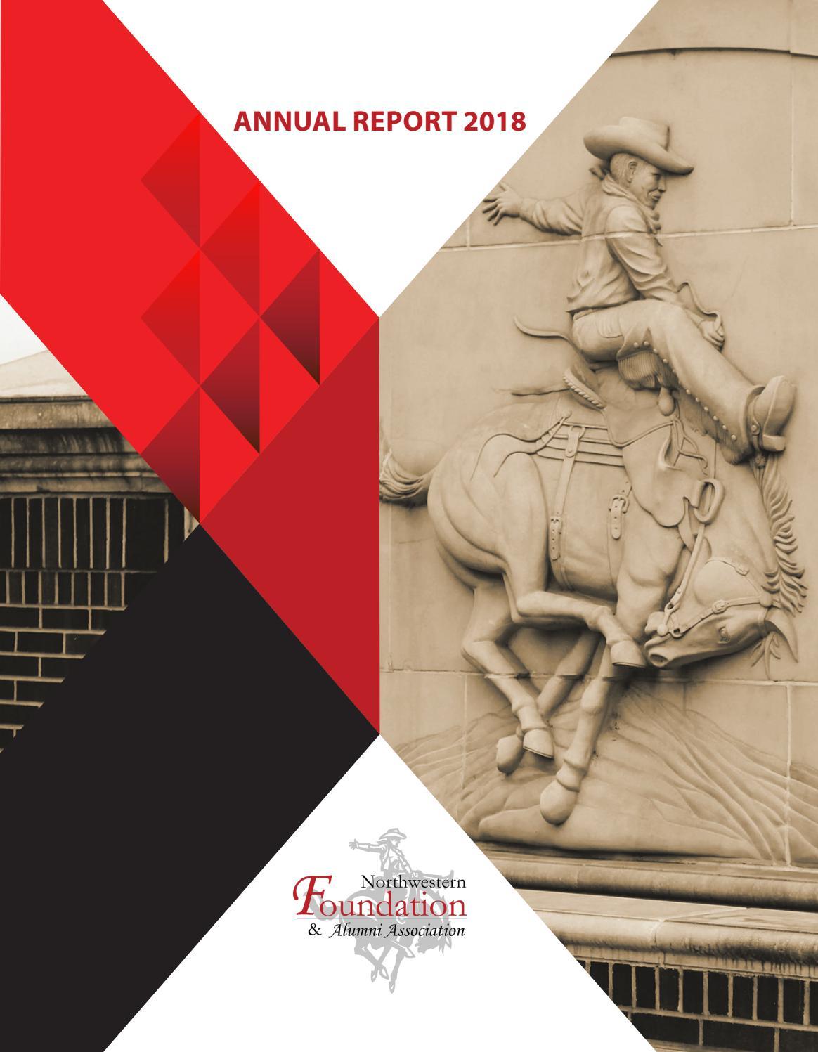 2018 Annual Report By Northwestern Foundation Alumni