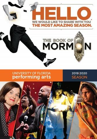 Uf Graduation December 2020.19 20 Uf Performing Arts Season Brochure By University Of