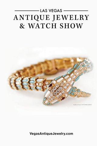 45a09f8b8 Las Vegas Antique Jewelry & Watch Show 2019 Directory by U.S. ...