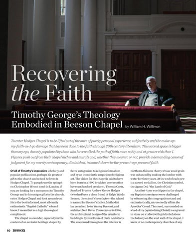 Page 12 of Recovering the Faith: Timothy George's