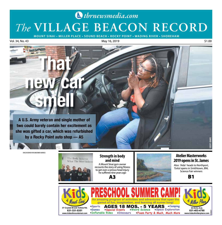 Calendario Mr Wonderful Julio 2019.The Village Beacon Record May 16 2019 By Tbr News Media