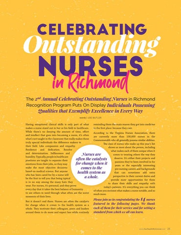 Page 25 of Celebrating Outstanding Nurses in Charlottesville and Shenandaoh Valley Virginia