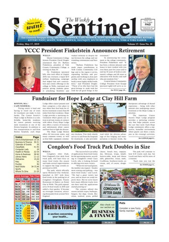 WS May 17, 2019 by Weekly Sentinel - issuu