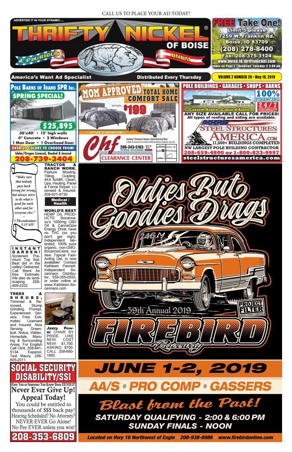 Thrifty Nickel Boise 5-16-2019 by tvdist - issuu
