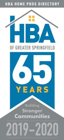 HBA Home Pros Directory 2019-2020 by Home Builders Association of